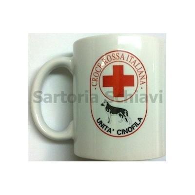 Red Cross-Canine unit mug