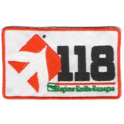 118 Emilia Romagna patch