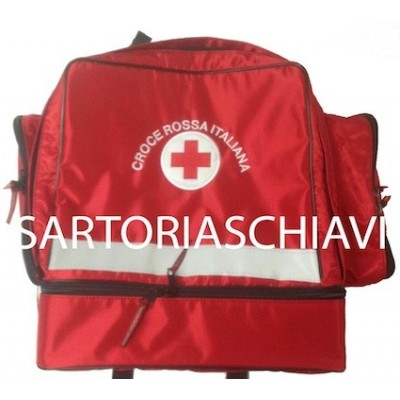 Red Cross large duffel bag