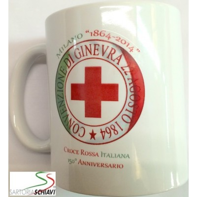 Italian Red Cross mug