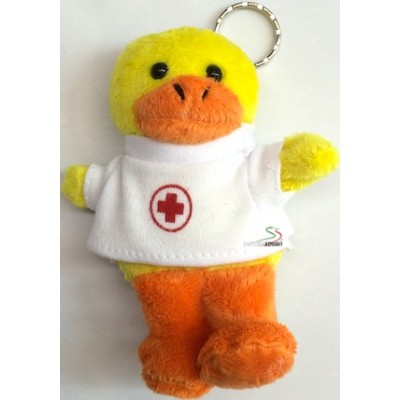 Stuffed bear key ring Red Cross