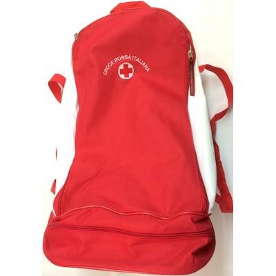 zaino Croce Rossa rosso/bianco