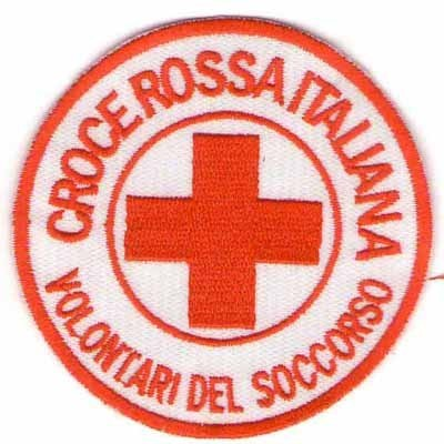 Red Cross Volunteer of the Rescue patch