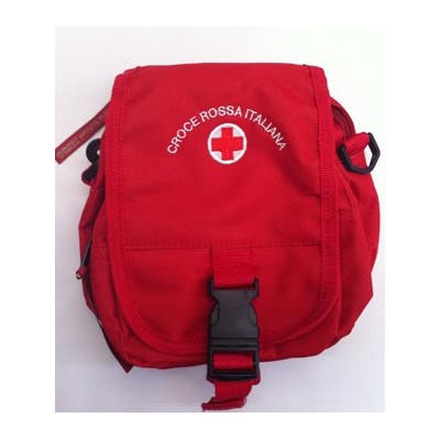 Red Cross red handbag