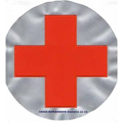 Croce rossa  rifrangente