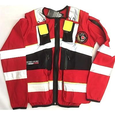 Jacket da intervento CRI soccorsi speciali