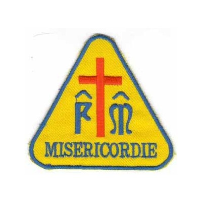 Triangular Misericordie patch