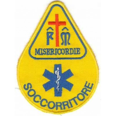 Teardrop Misericordie patch