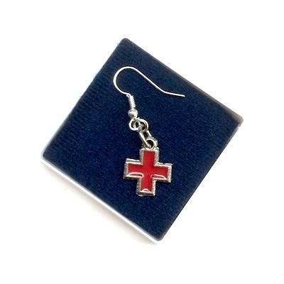 Orecchino Croce Rossa
