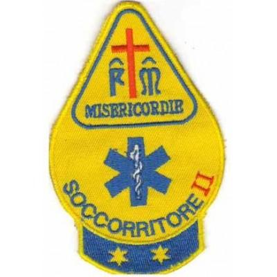 Teardrop Misericordie patch, second grade