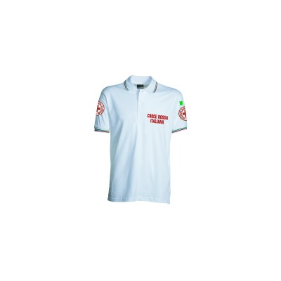 White polo shirt S/S - new model
